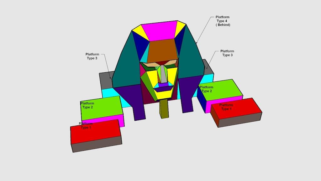 Pharaoh's Head OSIRIS DJ BOOTH at Burning Man project video thumbnail