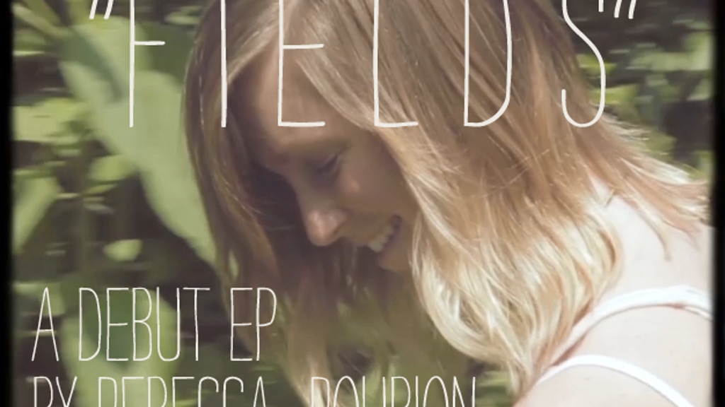 """REBECCA ROUBION'S """"FIELDS"""" EP project video thumbnail"""