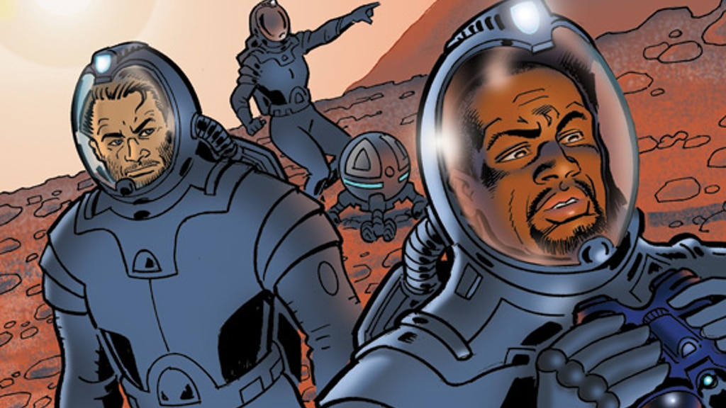 Mars: Daedalus Two -- A New Realistic Sci-Fi Graphic Novel project video thumbnail