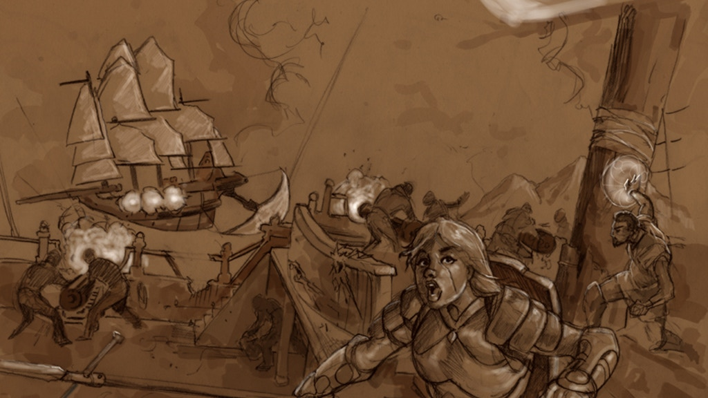 The Skies Over Danbury - Dungeon World Adventures project video thumbnail