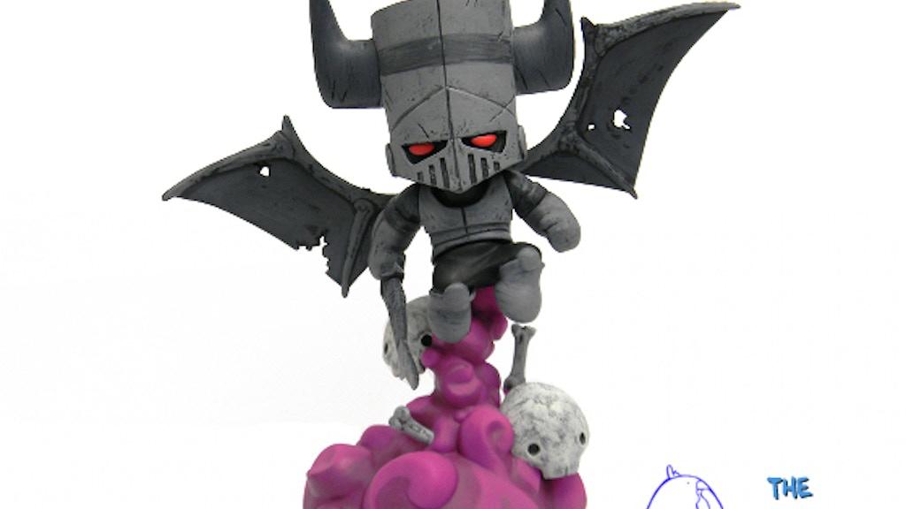 Castle Crashers Necromancer Figurine project video thumbnail