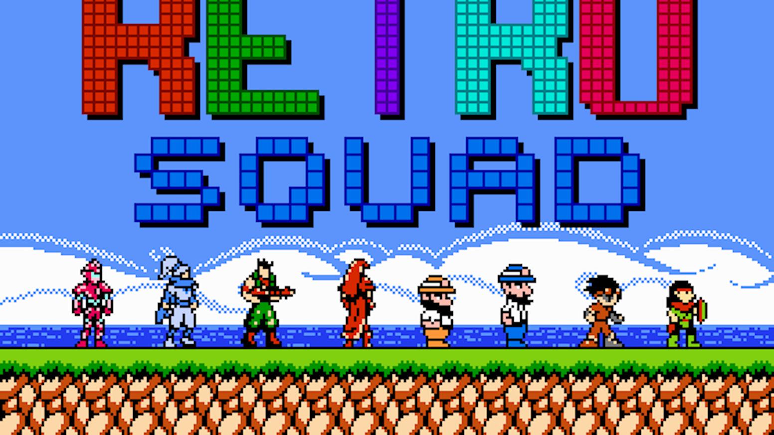 Super Retro Squad by Exploding Rabbit — Kickstarter