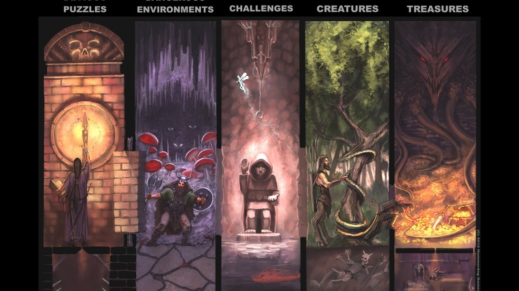 The Grande Temple of Jing (Pathfinder/Fantasy RPGs) project video thumbnail