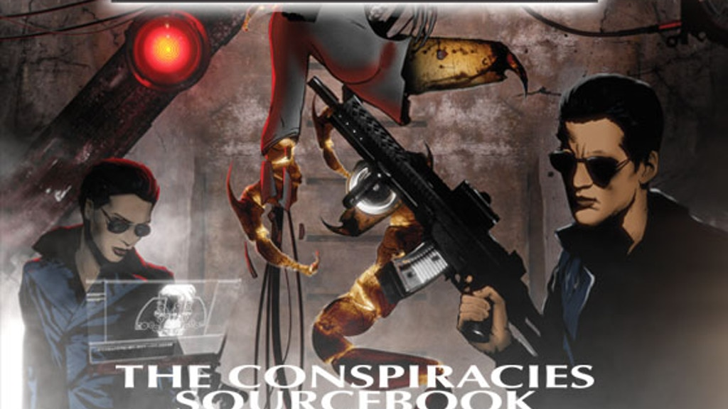 Conspiracy X The Conspiracies Sourcebook project video thumbnail