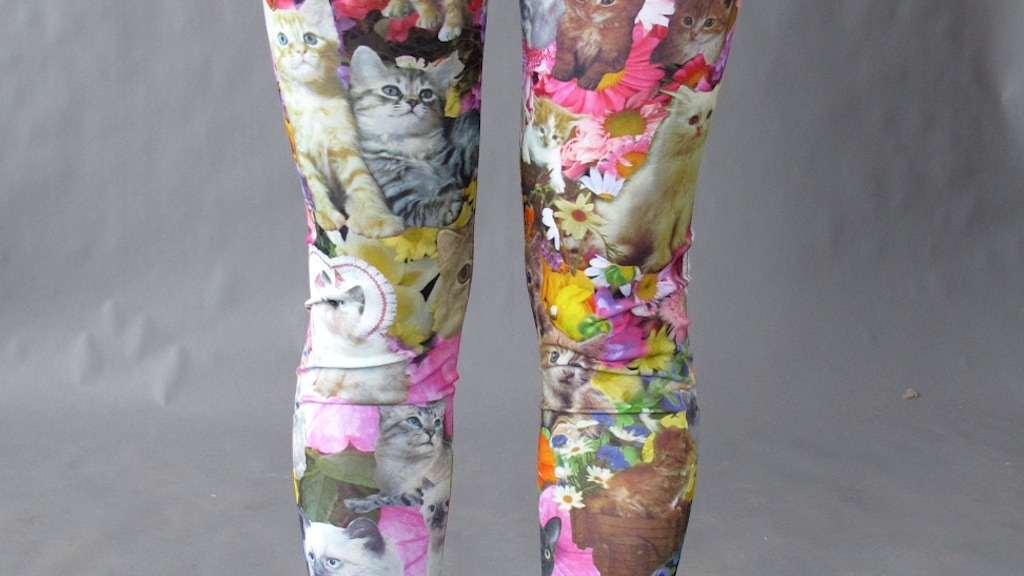 "Pretty Snake's ""Kitty Garden Party""  Leggings project video thumbnail"