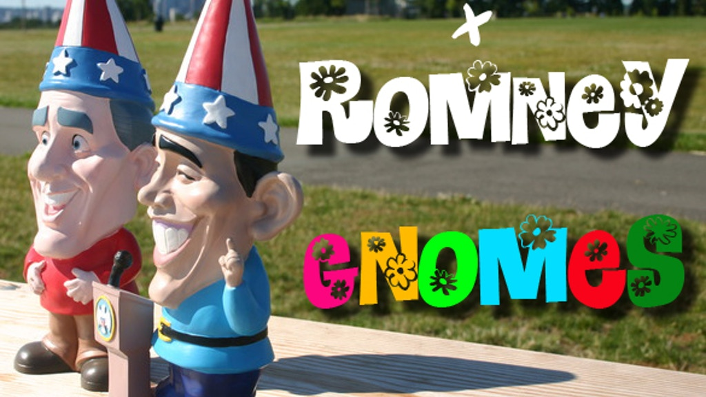 Obama & Romney Garden Gnomes project video thumbnail