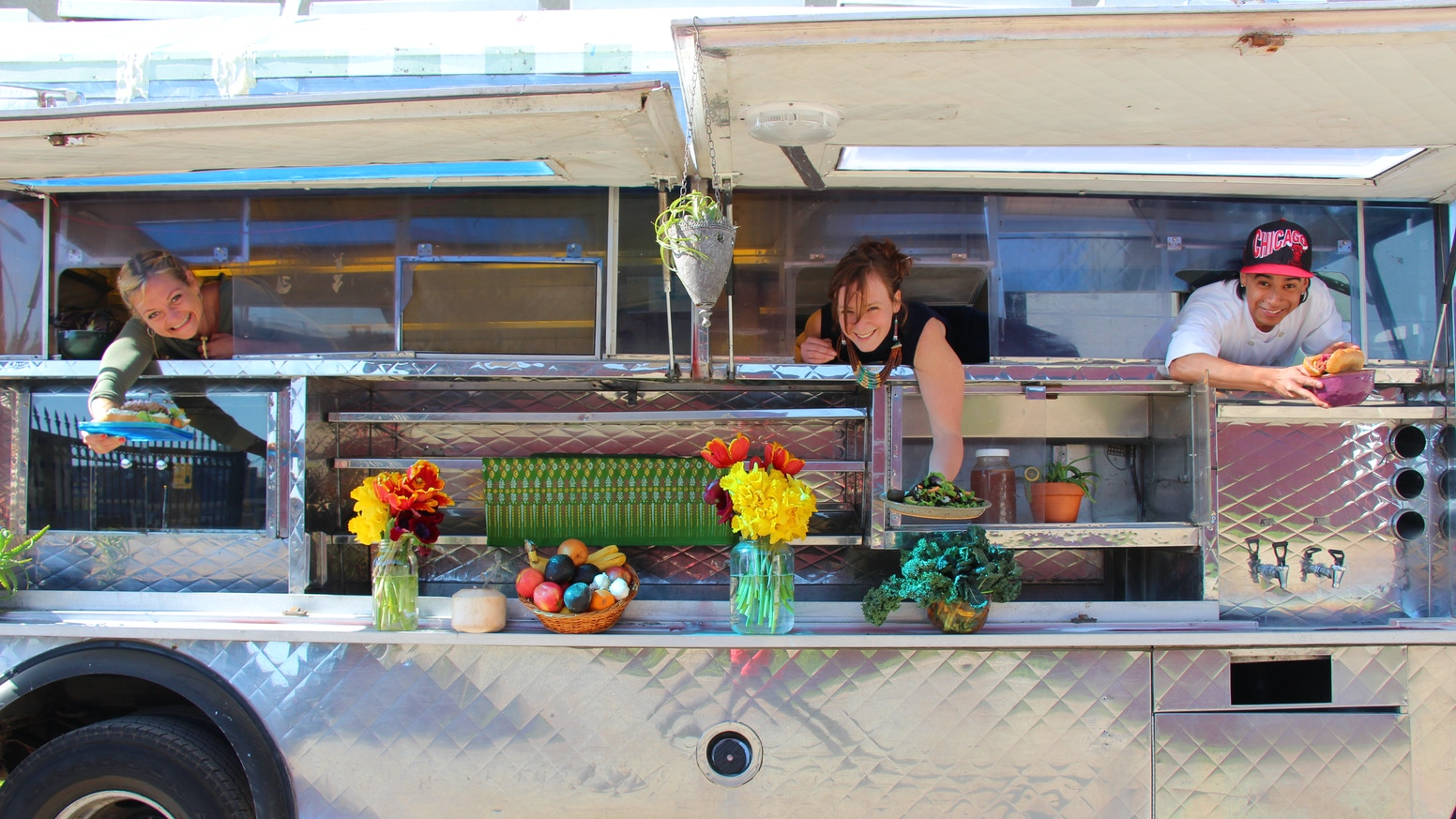 Sassafras Seagrass Traveling Food & Tonics/ Food Truck by