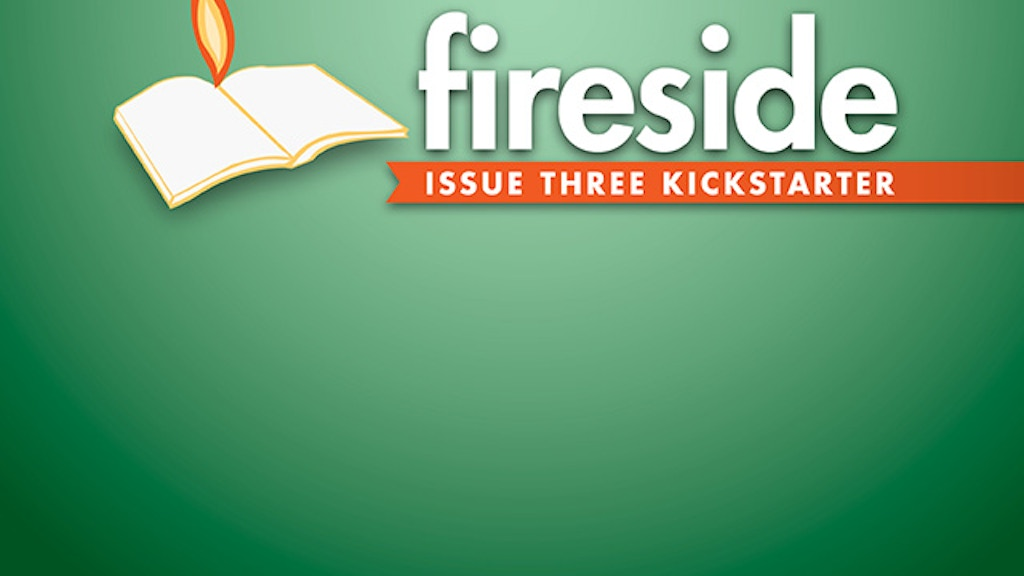 Fireside magazine Issue Three project video thumbnail