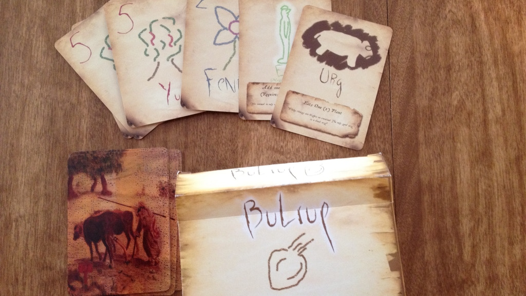 Bulrup: the mystical card game of abstract agriculture project video thumbnail
