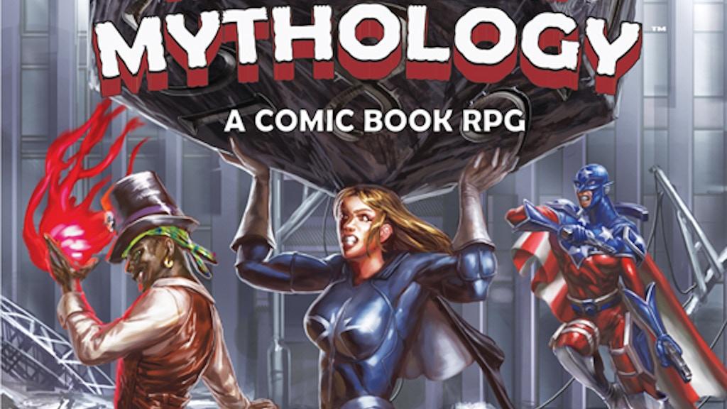 Man-Made Mythology: A Comic Book RPG project video thumbnail