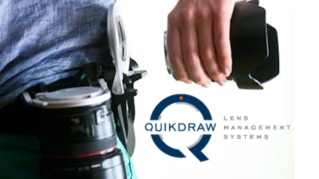 Quikdraw - an innovative lens holster project video thumbnail