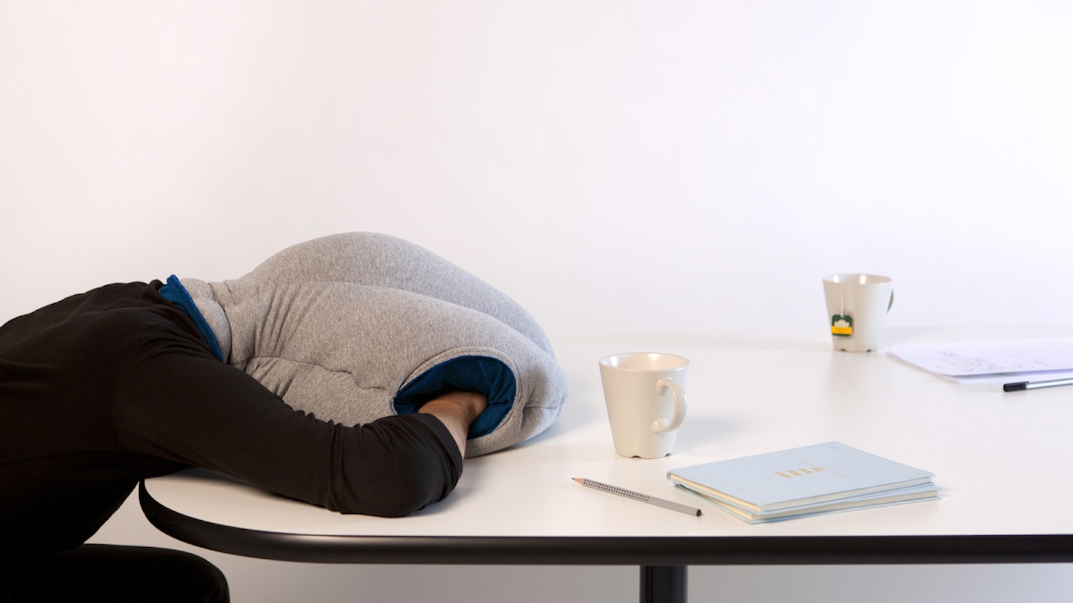 Ostrich Pillow Offers A Micro Environment In Which To Take Comfortable Nap The