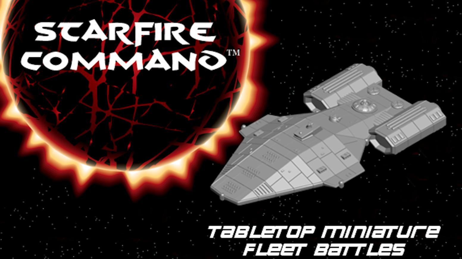 StarFire Command Space Fleet Miniatures War Game by Brad
