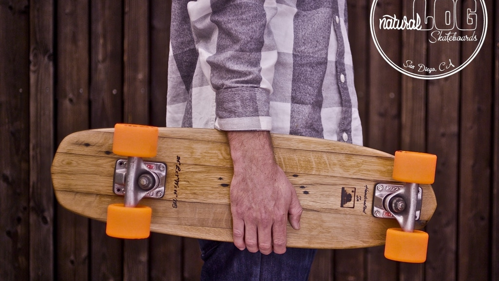 Natural Log Skateboards project video thumbnail