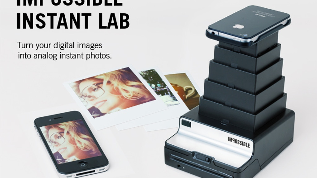 Impossible Instant Lab: Turn iPhone Images into Real Photos project video thumbnail