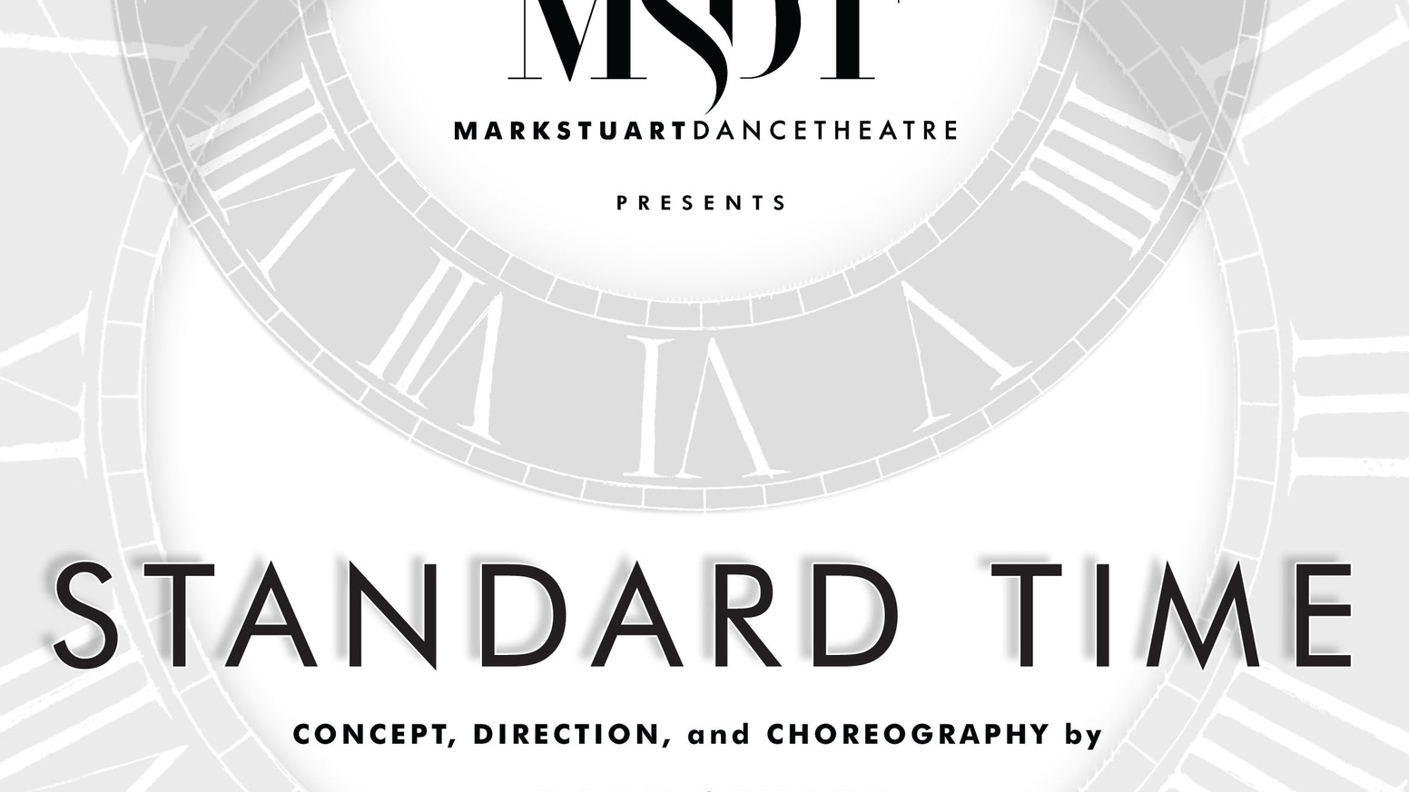 STANDARD TIME is a 90-minute action-packed and gravity-defying dance-theatre piece exploring social conflict and moral evolution.
