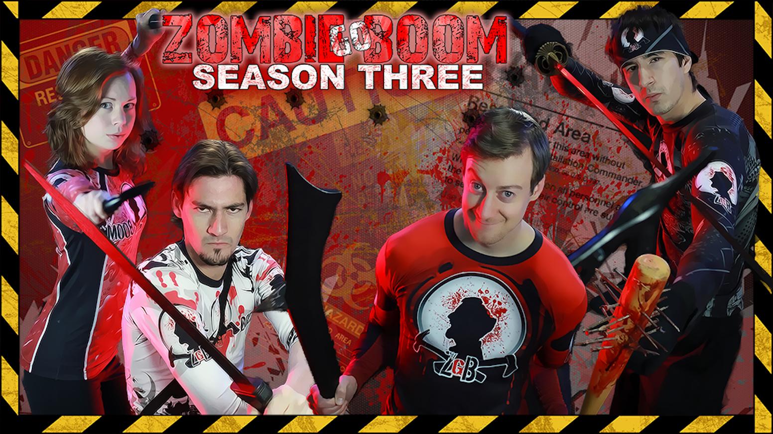 Zombie Go Boom Season 3 by Chuck Mere » Community — Kickstarter