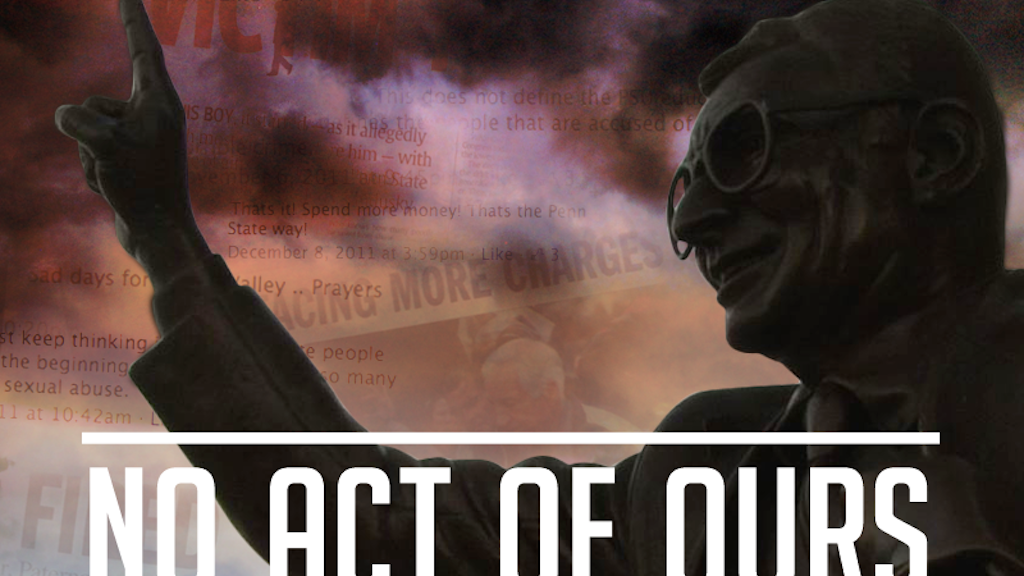 No Act of Ours Film project video thumbnail