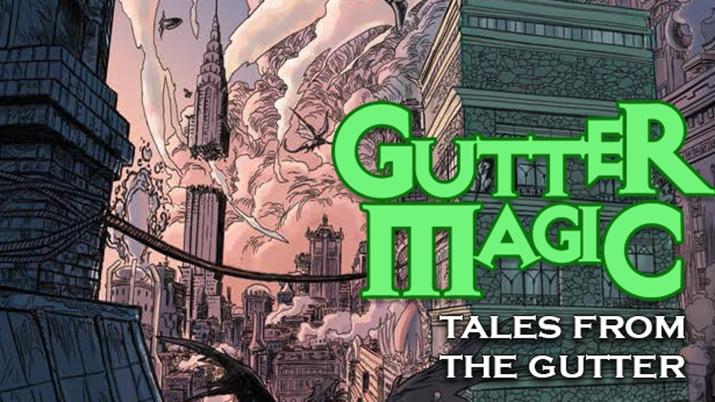 Tales From The Gutter A Gutter Magic Anthology By Rich