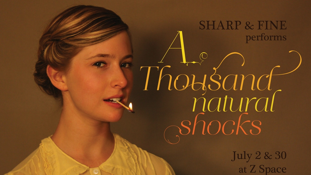 A Thousand Natural Shocks by Sharp & Fine and Kat Howard project video thumbnail