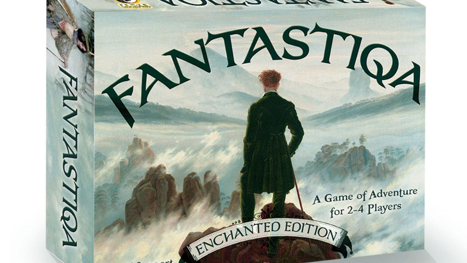 FANTASTIQA is a deck-building board game by Alf Seegert, designer of Trollhalla and The Road to Canterbury, published by Gryphon Games.