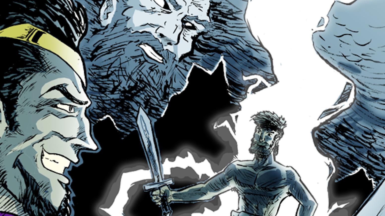 Judges: A Gritty Comic Retelling of Biblical Superhero Tales