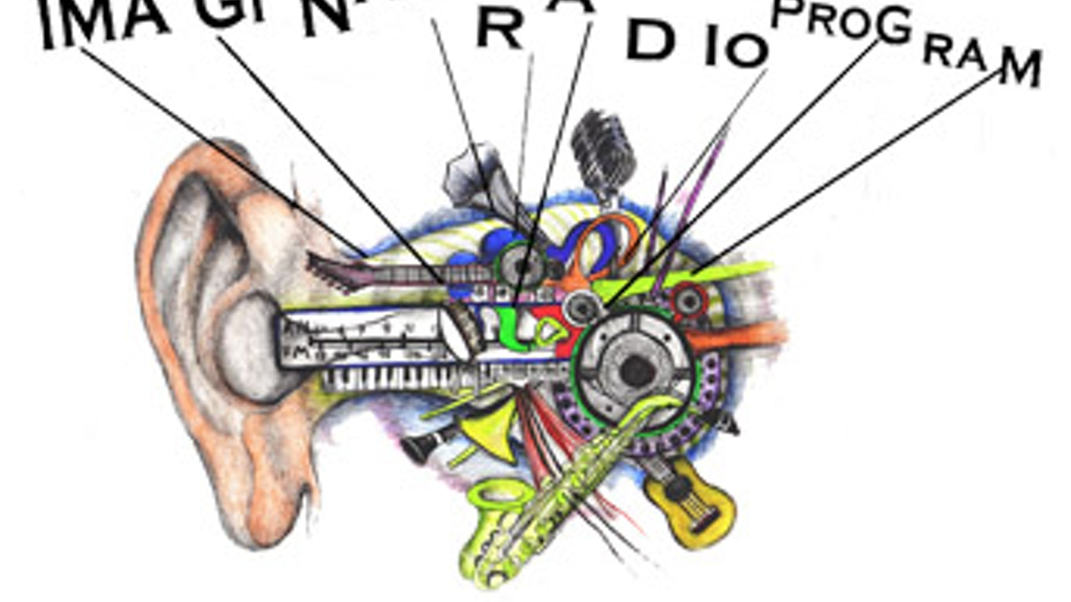 The Imaginary Radio Program at the Edinburgh Fringe Festival