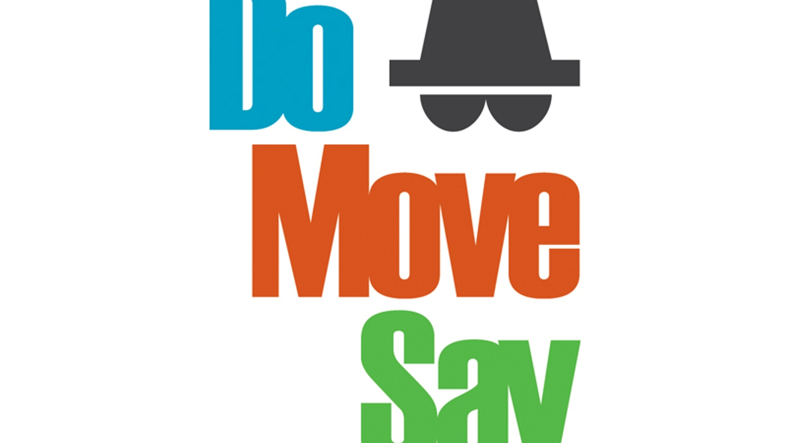 Do Move Say is a party game for ten or more people, in which everyone becomes a character in a wacky (but dangerous) world.