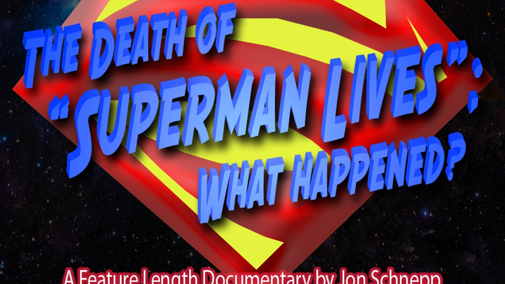 "The Death of ""Superman Lives"": What Happened? project video thumbnail"