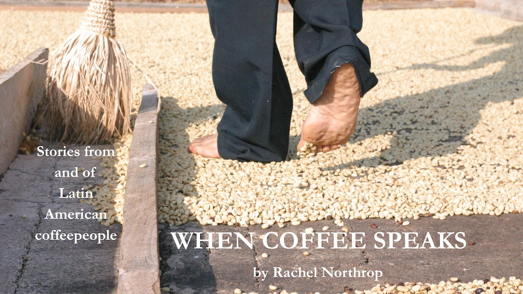 When Coffee Speaks project video thumbnail