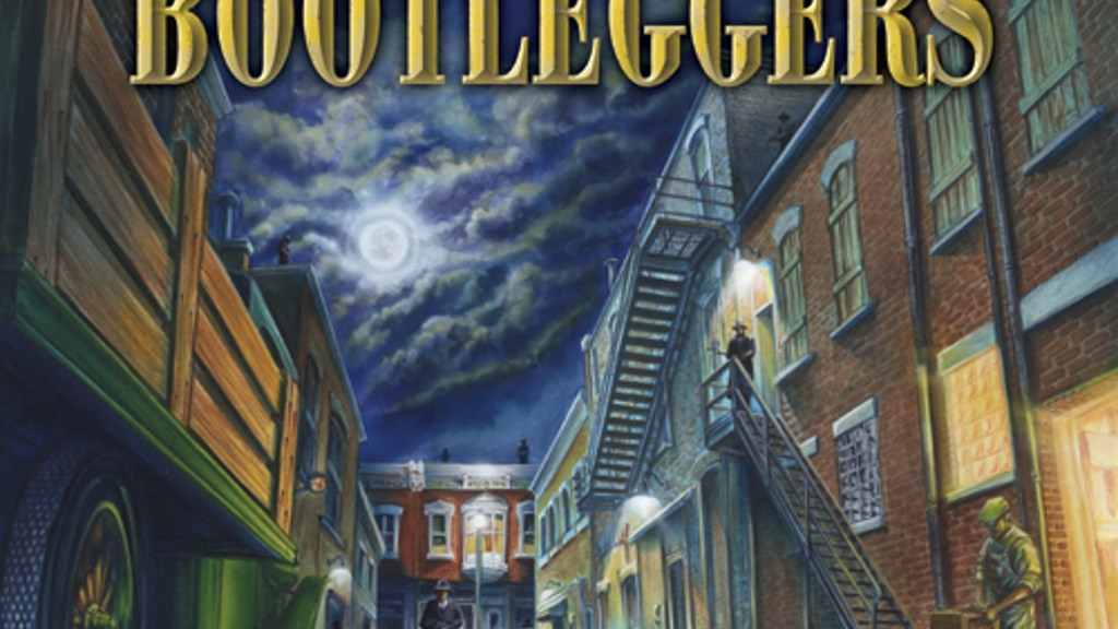 Bootleggers -Prohibition Era Board Game (sorry no Zombies!) project video thumbnail