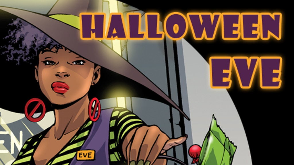 HALLOWEEN EVE comic book project video thumbnail