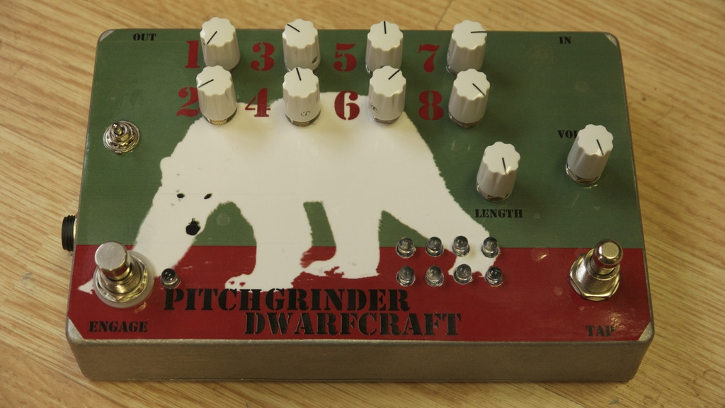 PITCHGRINDER - An 8 Step Sequenced Pitch Shifter project video thumbnail