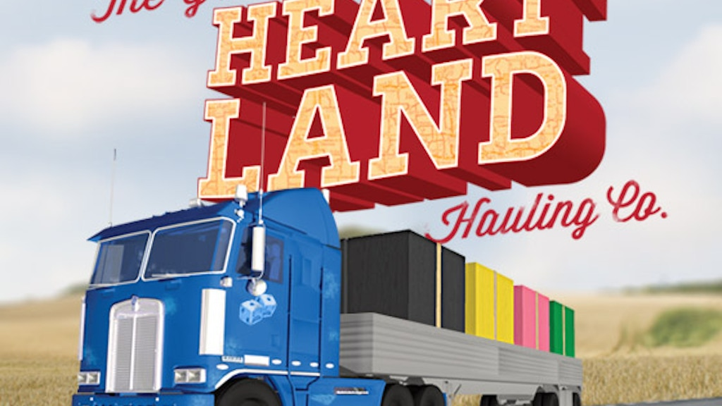 The Great Heartland Hauling Co: A card game for 2-4 truckers project video thumbnail