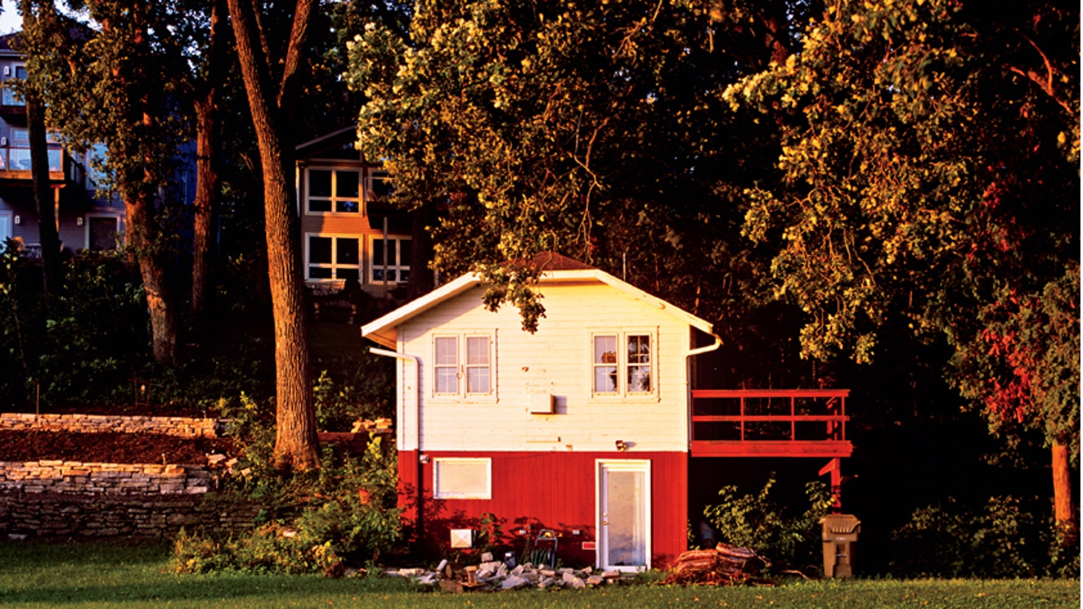 LITTLE HOUSE ON THE LAKE Hardcover Book by Jeff Strahl — Kickstarter