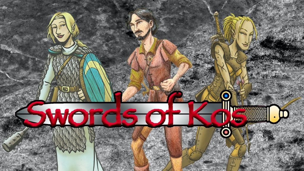 'Swords of Kos' Fantasy Campaign Setting project video thumbnail