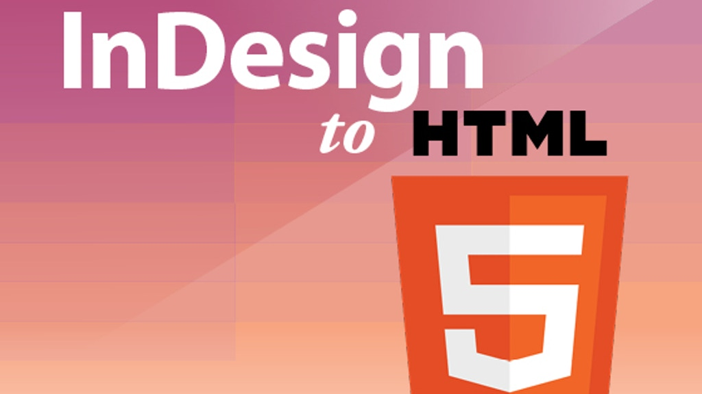 InDesign to HTML5 project video thumbnail