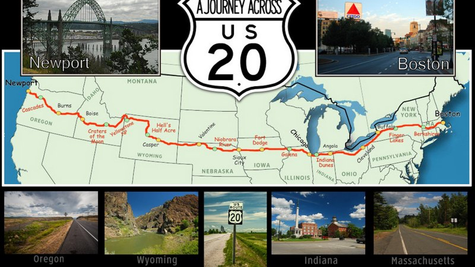A Journey Through History Across America\'s Longest Highway by BT ...