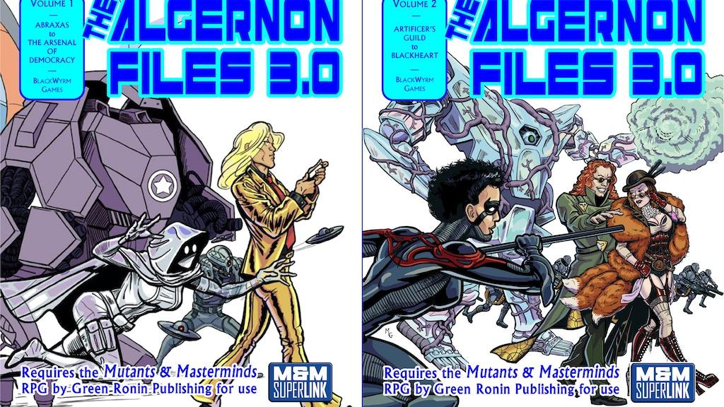 The Algernon Files 3.0 project video thumbnail