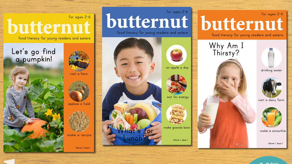 butternut magazine | food literacy for young readers project video thumbnail
