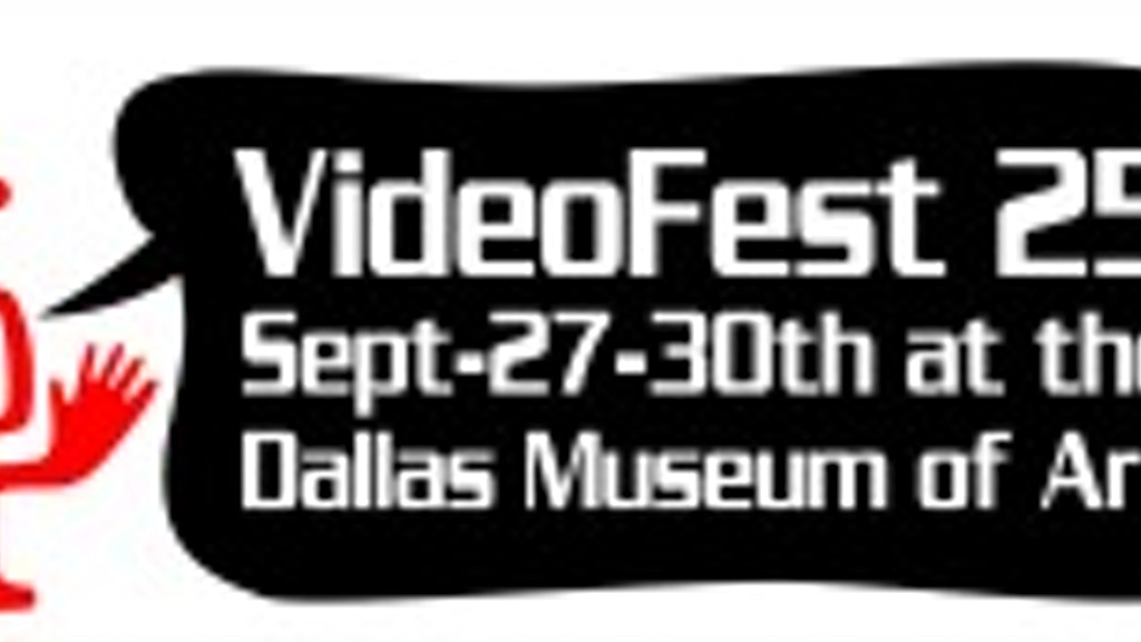 25th Annual Dallas VideoFest project video thumbnail