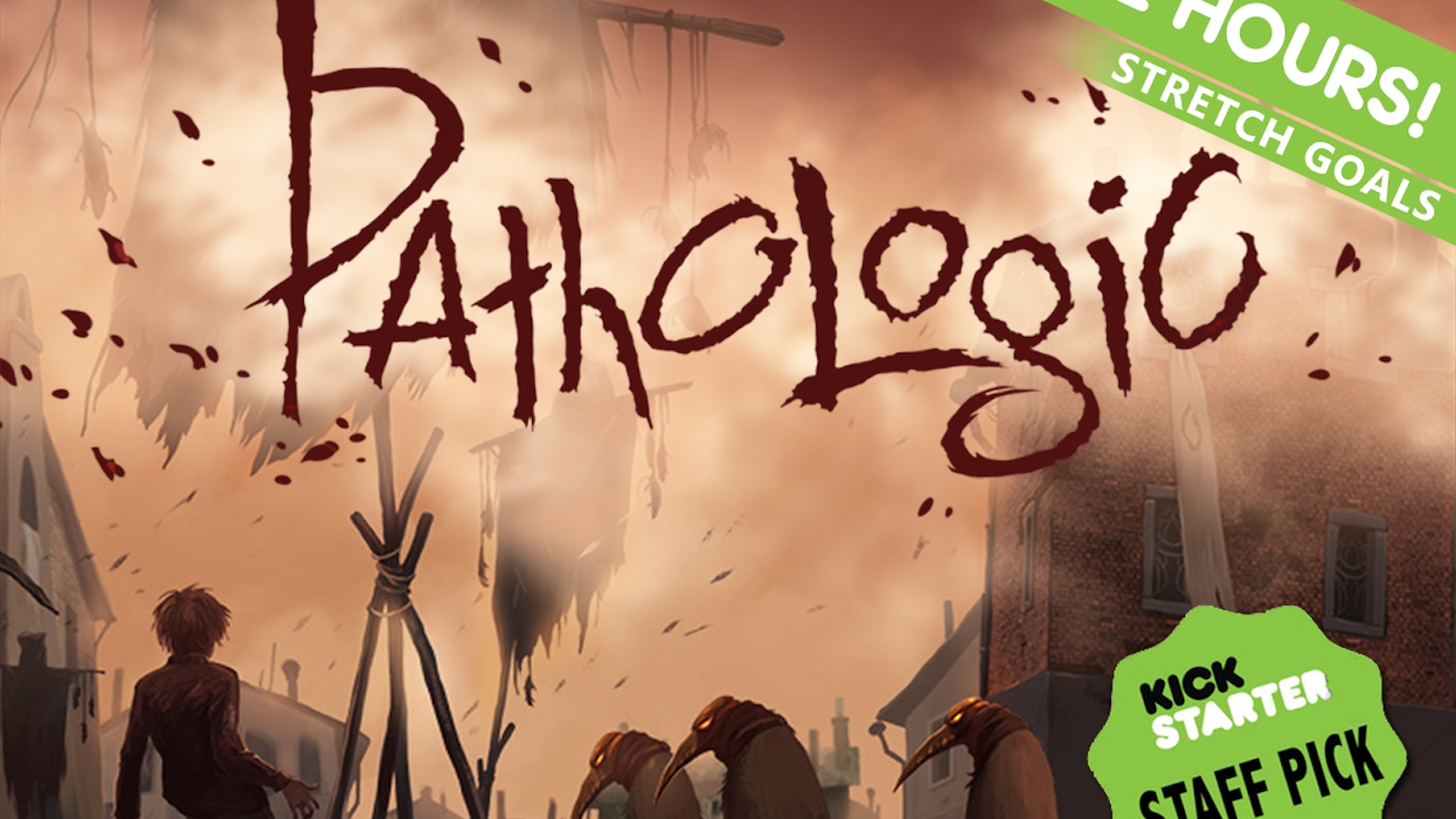 12 days in a town devoured by plague. It's an enemy you can't kill. It's a game where you can't save everyone