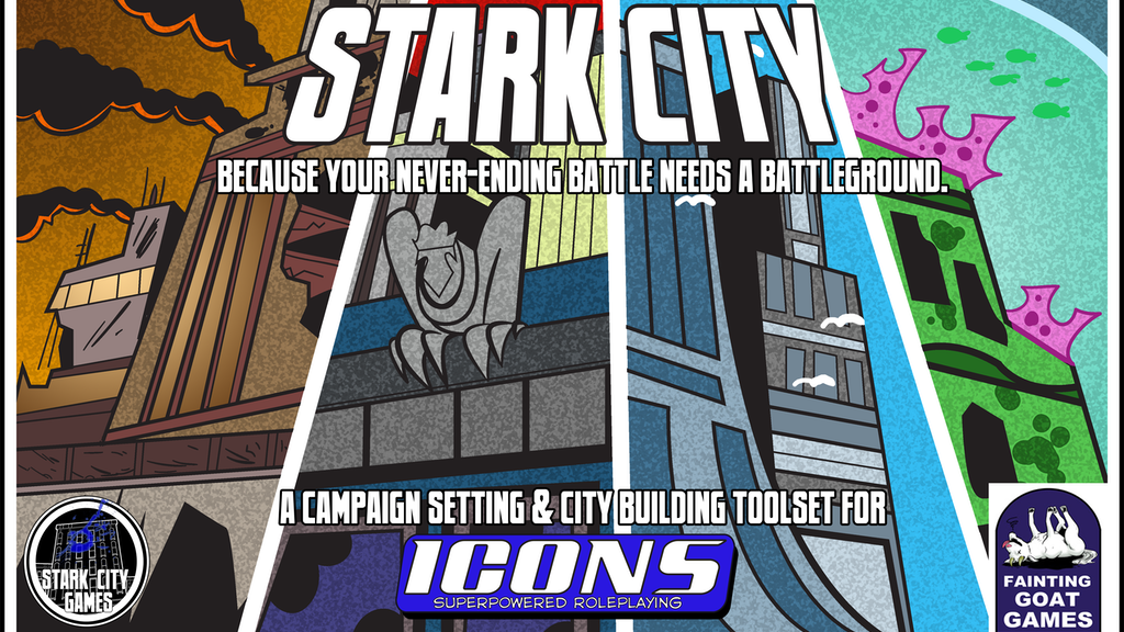 Stark City: Setting and City Building Toolkit for ICONS RPG project video thumbnail