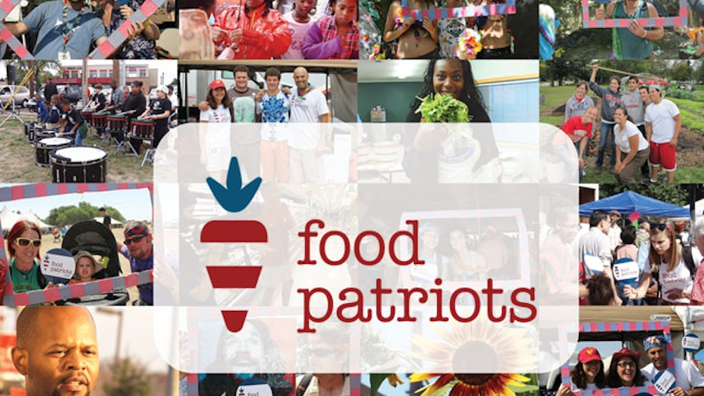 Food Patriots - a journey into the good food movement project video thumbnail