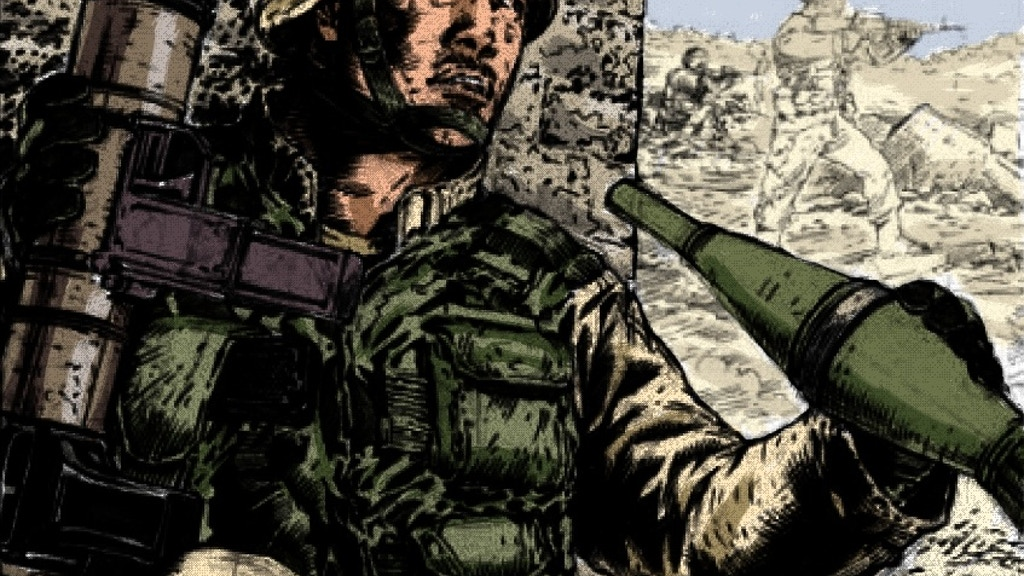 """No Enemy, But Peace"" graphic novel project video thumbnail"