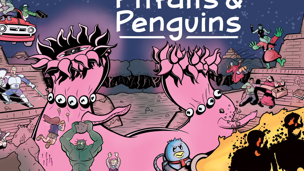Pitfalls and Penguins: First Printing project video thumbnail