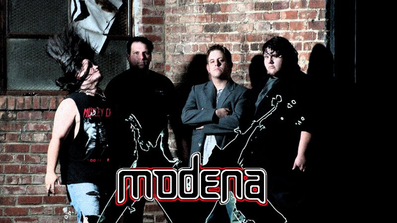 Rock band MODENA's debut album by MODENA » Album cover is