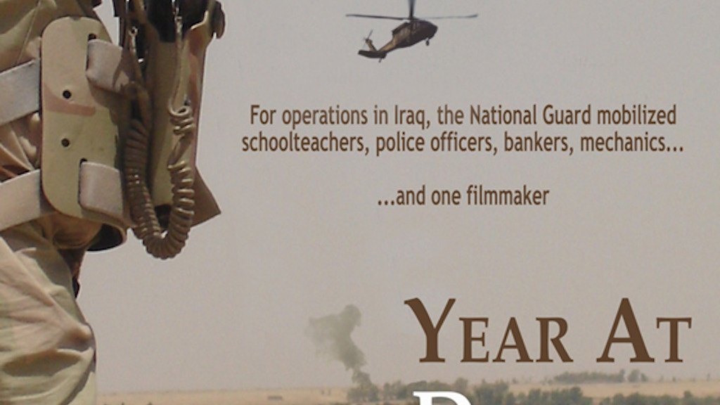 Getting the Iraq documentary Year At Danger out to the world project video thumbnail
