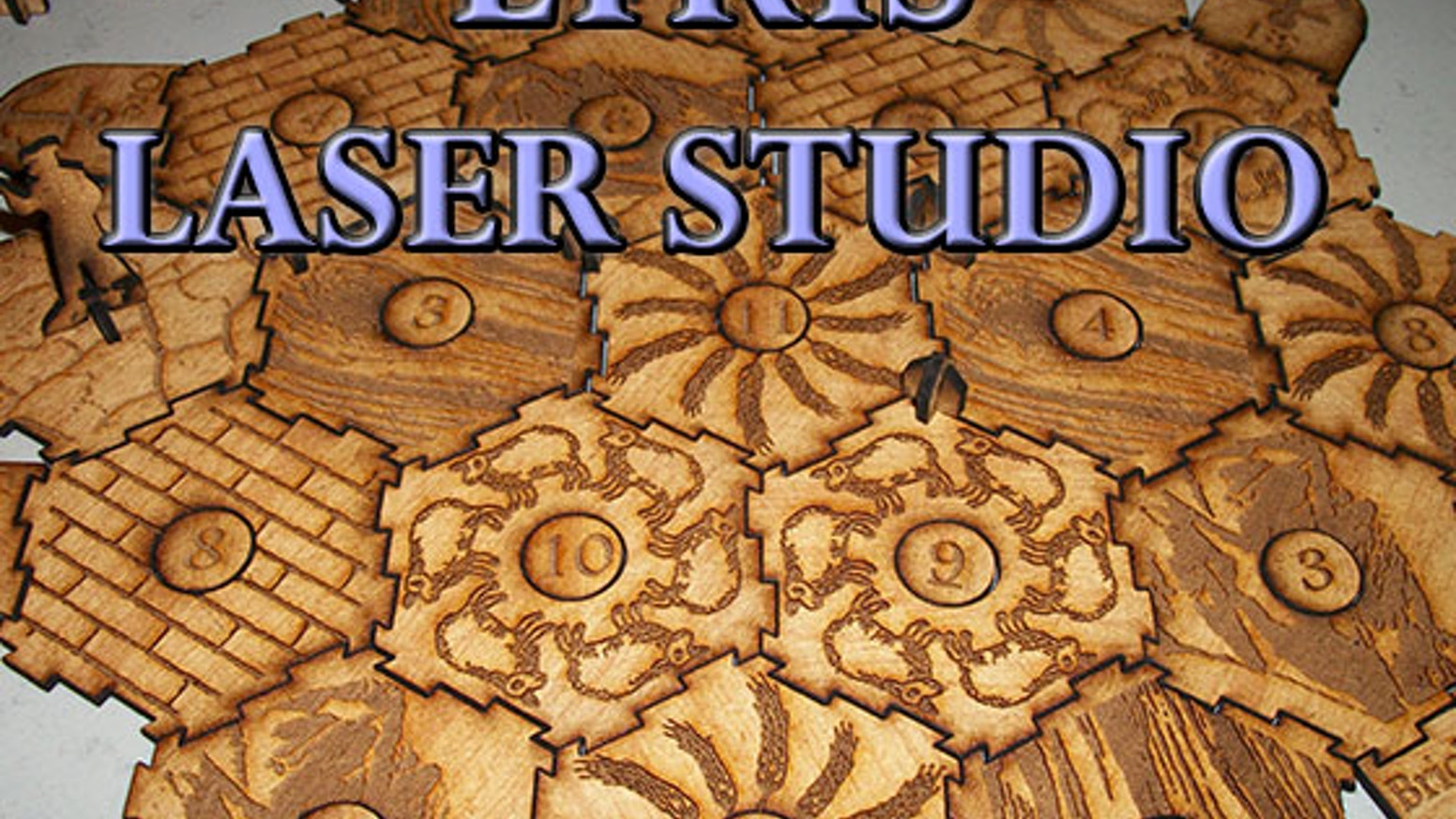 Thanks to Kickstarter, we were able to purchase the laser-cutting equipment we needed to start in 2012. Since then, Lyris Laser Studio has been growing, visiting more conventions, and producing items for many other Kickstarter projects.