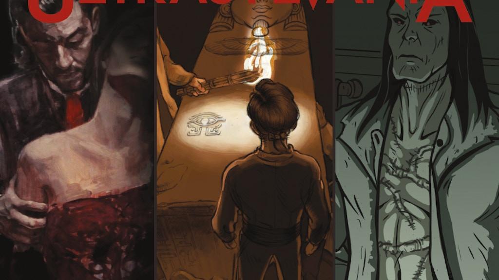 ULTRASYLVANIA: The Graphic Novel project video thumbnail